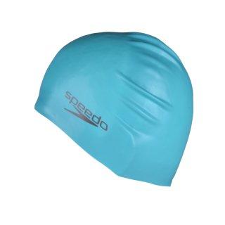 Шапочка для плавання Speedo Plain Moulded Silicone Cap - фото 1