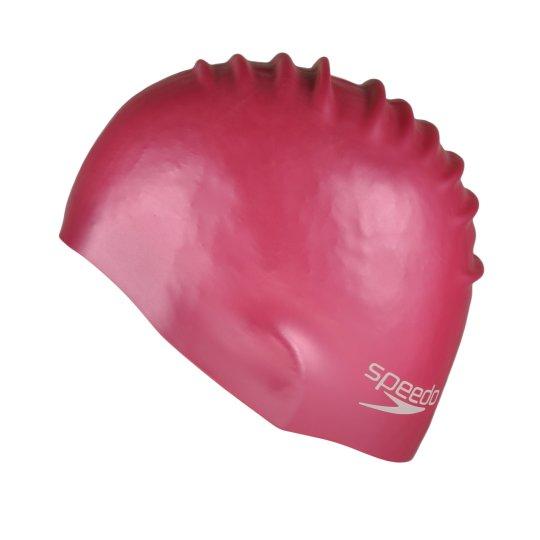 Шапочка для плавання Speedo Plain Moulded Silicone Junior - фото