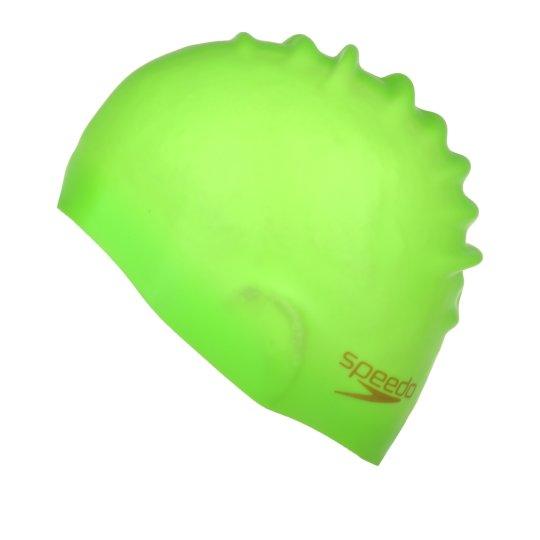 Шапочка для плавання Speedo Plain Moulded Silicone Cap - фото