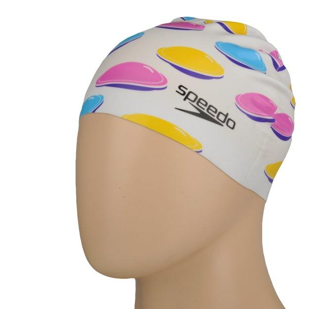 Шапочка для плавания Speedo Slogan Print Cap - MEGASPORT
