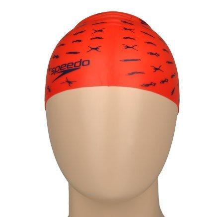 Шапочка для плавання Speedo Junior Slogan Cap - 110183, фото 4 - інтернет-магазин MEGASPORT