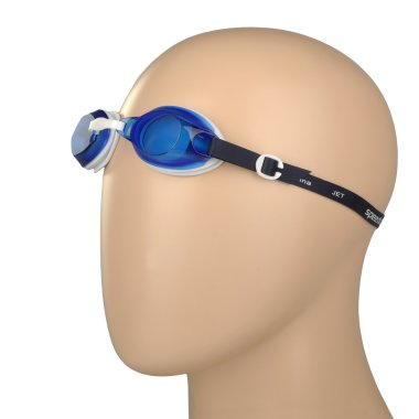 Окуляри і маска для плавання speedo Jet - 110192, фото 1 - інтернет-магазин MEGASPORT