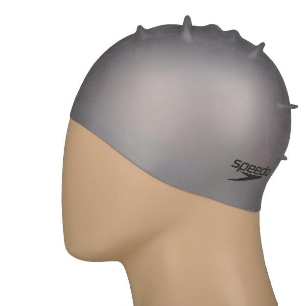 Шапочка для плавания Speedo Plain Moulded Silicone Cap - MEGASPORT