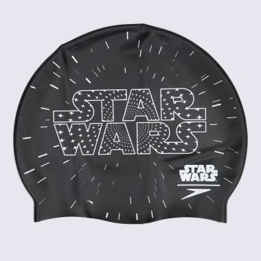 Шапочки для плавания speedo Star Wars Junior Slogan Cap - 117134, фото 1 - интернет-магазин MEGASPORT