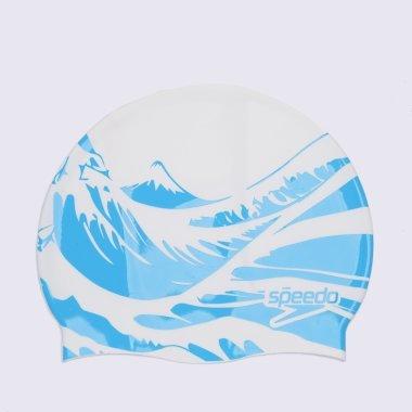 Шапочки для плавання speedo Slogan Print Cap - 120778, фото 1 - інтернет-магазин MEGASPORT