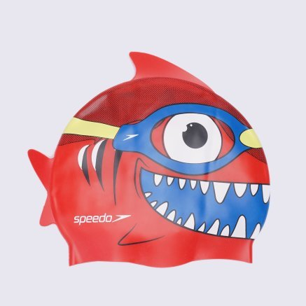 Шапочки для плавания Speedo Sea Squad Character Cap Ju - 120782, фото 1 - интернет-магазин MEGASPORT