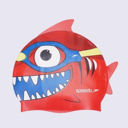 Шапочки для плавания Speedo Sea Squad Character Cap Ju - 120782, фото 2 - интернет-магазин MEGASPORT