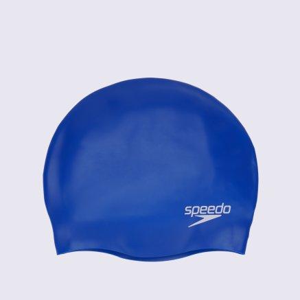 Шапочки для плавання Speedo Plain Moulded Silicone Cap Junior - 5906, фото 2 - інтернет-магазин MEGASPORT