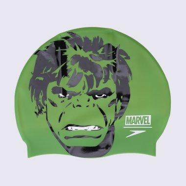 Шапочки для плавання speedo Hulk Slogan Prt Cap - 127265, фото 1 - інтернет-магазин MEGASPORT