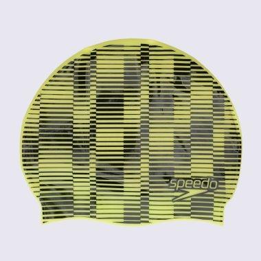 Шапочки для плавання speedo Slogan Prt Cap - 127267, фото 1 - інтернет-магазин MEGASPORT
