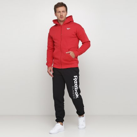 Кофта Reebok Cl Itl Graphic Fz H - 118931, фото 2 - інтернет-магазин MEGASPORT
