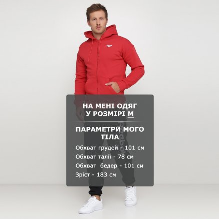 Кофта Reebok Cl Itl Graphic Fz H - 118931, фото 6 - інтернет-магазин MEGASPORT