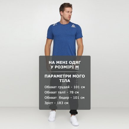 Футболка Reebok Ufc Fk Blank Jersey - 118952, фото 6 - інтернет-магазин MEGASPORT