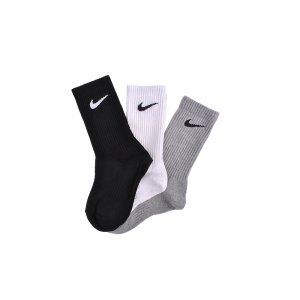 Шкарпетки Nike 3PPK Cotton Lightweight Crew W/Moisture Mgt (S,M,L,Xl) - фото 1