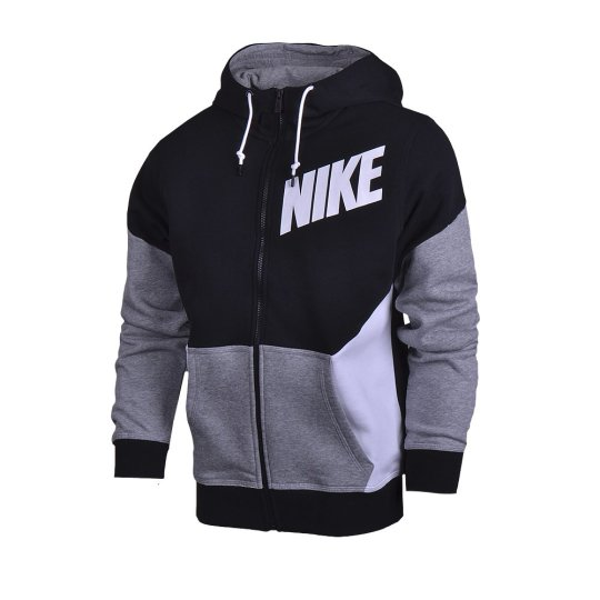 Кофта Nike Club Fz Hoody-New Clrblk - фото