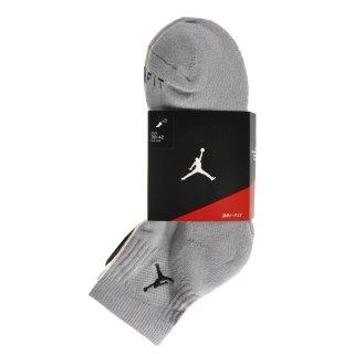 Шкарпетки Nike Jordan Drifit Low Quarter 3pk - фото 2