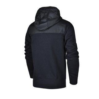 Кофта Nike Aw77 Flc Fz Hoody-Hybrid - фото 2