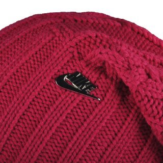 Шапка Nike Nsw W's Cable Knit Beanie - фото 3