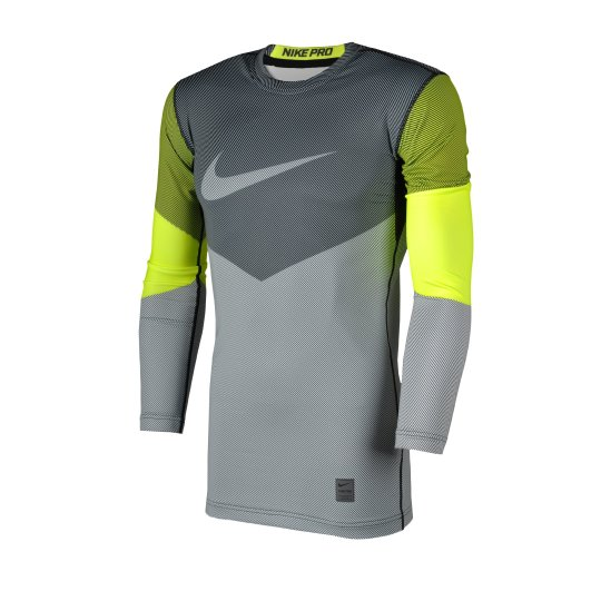 Футболка Nike Hyperwarm Df Mx Comp Lines Ls - фото