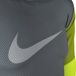 Футболка Nike Hyperwarm Df Mx Comp Lines Ls - фото 3
