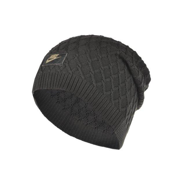 Шапка Nike Nsw M's Cable Knit Beanie - 89900, фото 1 - интернет-магазин MEGASPORT
