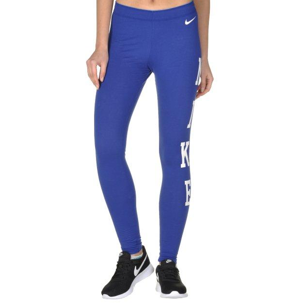 Леггинсы Nike Club Legging-Logo - MEGASPORT