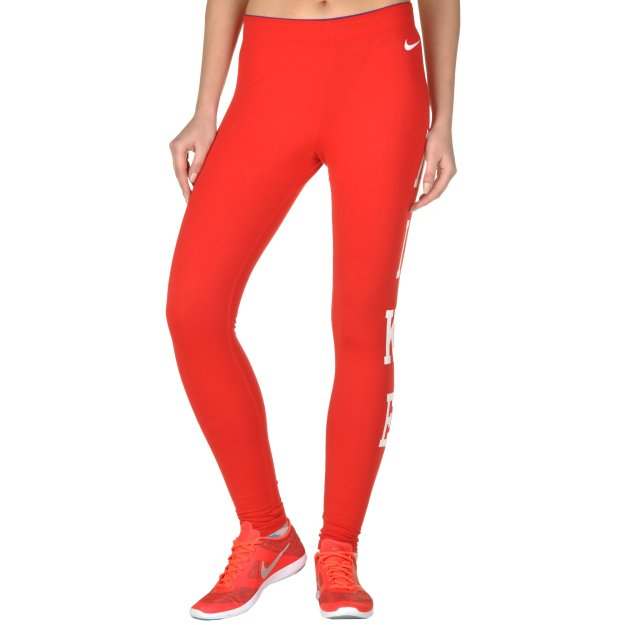 Легінси Nike Club Legging-Logo - 91421, фото 1 - інтернет-магазин MEGASPORT