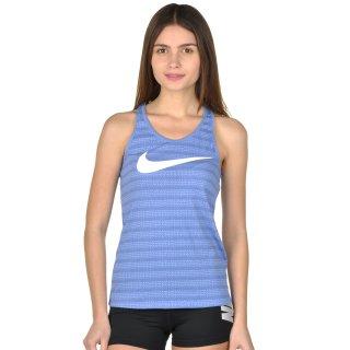 Майка Nike Dri-Fit Aop Swoosh Racer Tank - фото 1