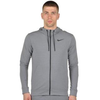 Кофта Nike Dri-Fit Training Fleece Fz Hdy - фото 1