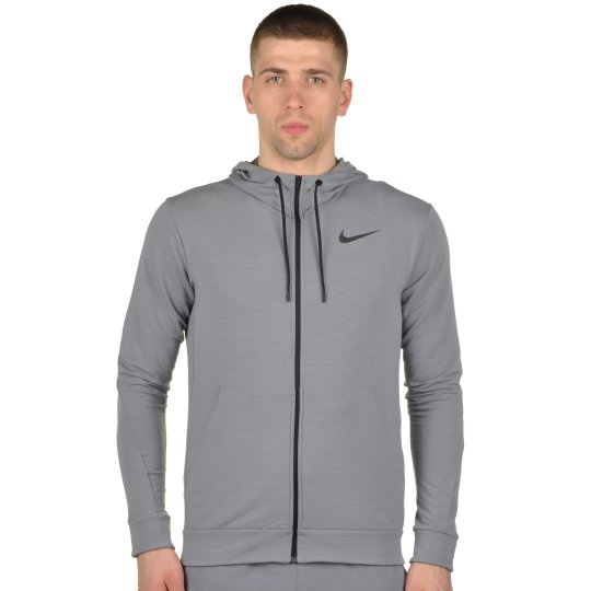 Кофта Nike Dri-Fit Training Fleece Fz Hdy - фото