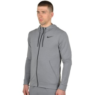 Кофта Nike Dri-Fit Training Fleece Fz Hdy - фото 2