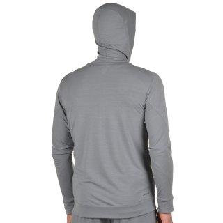 Кофта Nike Dri-Fit Training Fleece Fz Hdy - фото 3