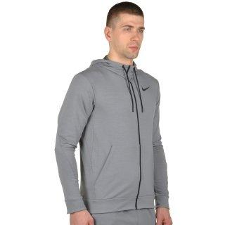 Кофта Nike Dri-Fit Training Fleece Fz Hdy - фото 4