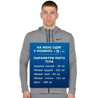 Кофта Nike Dri-Fit Training Fleece Fz Hdy - фото 7