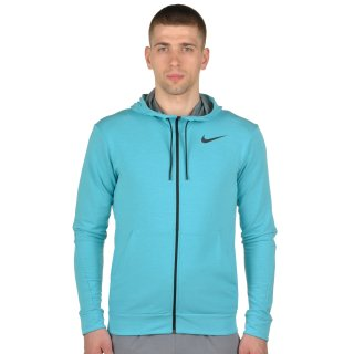 Кофта Nike Dri-Fit Training Fleece Fz Hdy - фото 1