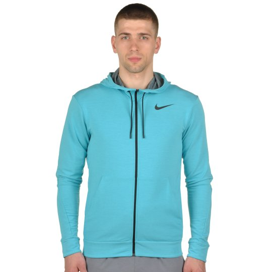 Кофта Nike Dri-Fit Training Fleece Fz Hdy - фото