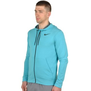 Кофта Nike Dri-Fit Training Fleece Fz Hdy - фото 2