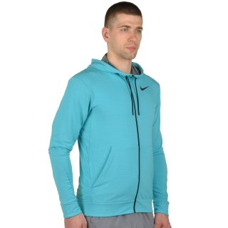 Кофта Nike Dri-Fit Training Fleece Fz Hdy - фото 4