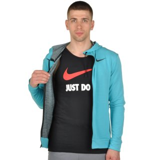 Кофта Nike Dri-Fit Training Fleece Fz Hdy - фото 5