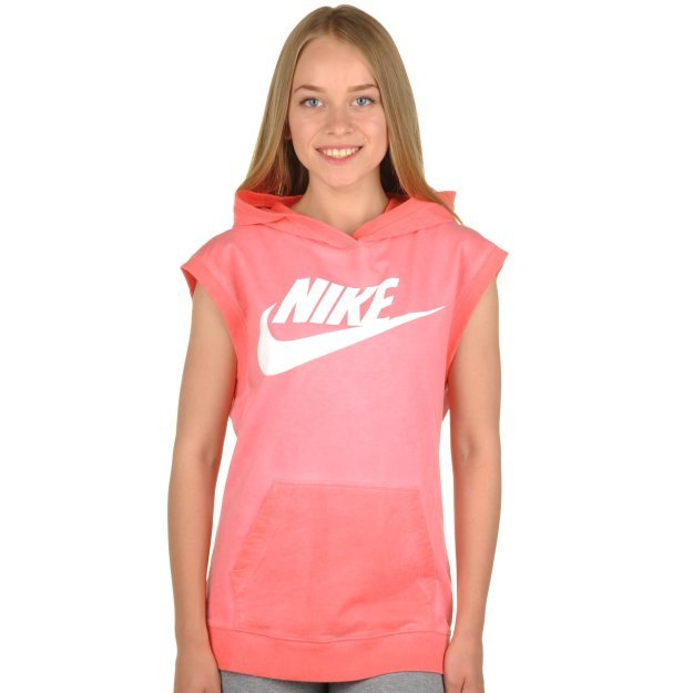 Футболка Nike Sleeveless Po Hoody-Wash - 93971, фото 1 - интернет-магазин MEGASPORT