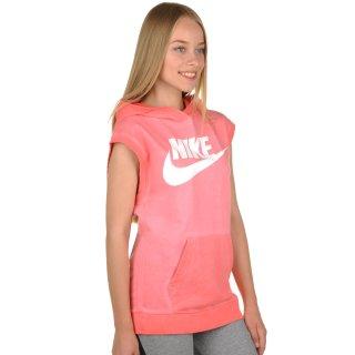 Футболка Nike Sleeveless Po Hoody-Wash - фото 4