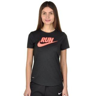Футболка Nike Run P W Run Swoosh Brnd Rd Tee - фото 1