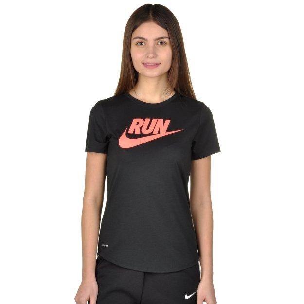 Футболка Nike Run P W Run Swoosh Brnd Rd Tee - MEGASPORT