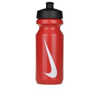 Пляшка Nike Big Mouth Water Bottle  Sport Red/White - фото 1