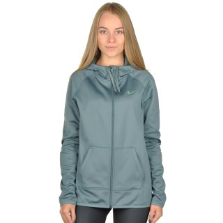 Кофта Nike Women's Therma Training Hoodie - фото 1