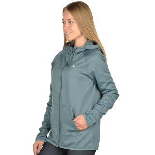 Кофта Nike Women's Therma Training Hoodie - фото 2