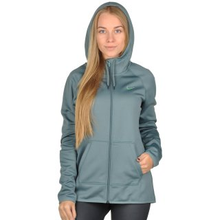 Кофта Nike Women's Therma Training Hoodie - фото 4