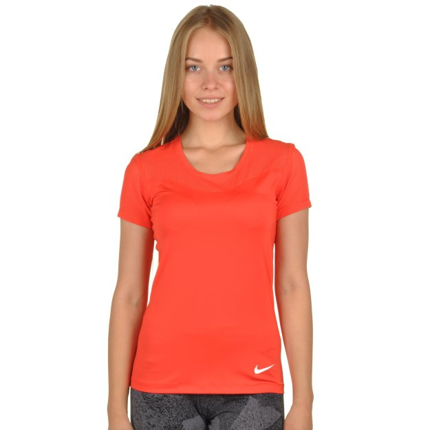 Футболка Nike Women's Pro Hypercool Top - MEGASPORT