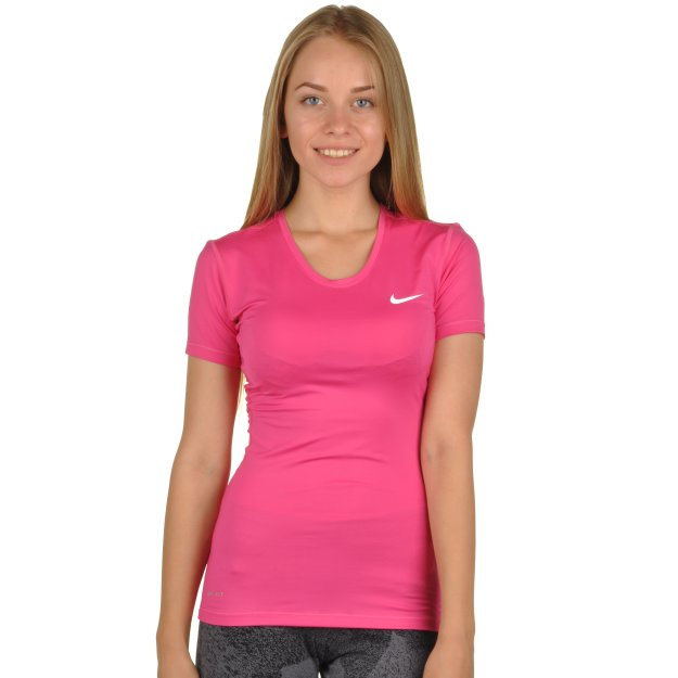 Футболка Nike Women's Pro Cool Top - MEGASPORT
