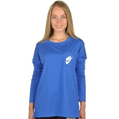 Кофты nike Women's Sportswear Top - 94396, фото 1 - интернет-магазин MEGASPORT